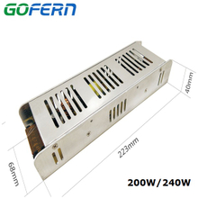 Manufacture in China 240W switching power supply 24v 10a for led driver
