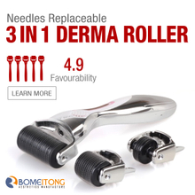 3 in 1 Microneedle Skin Roller for Sale BM31