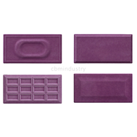 Purple color glaze tile Subway tile 100*200mm