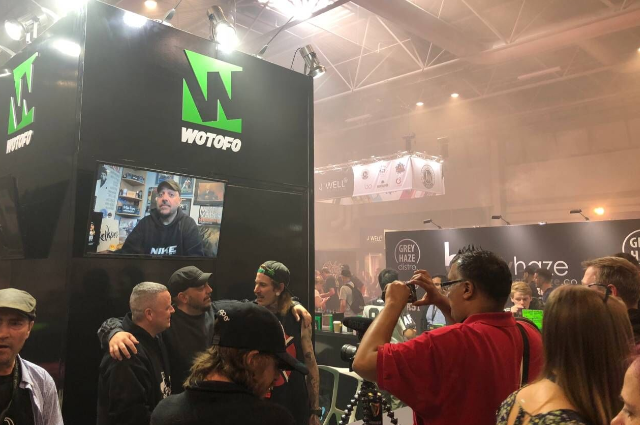 Vape Celebrities Caused Quite a Stir at Trade Shows with Wotofo