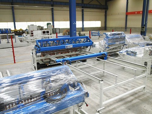 Fence Mesh Welding Machine5