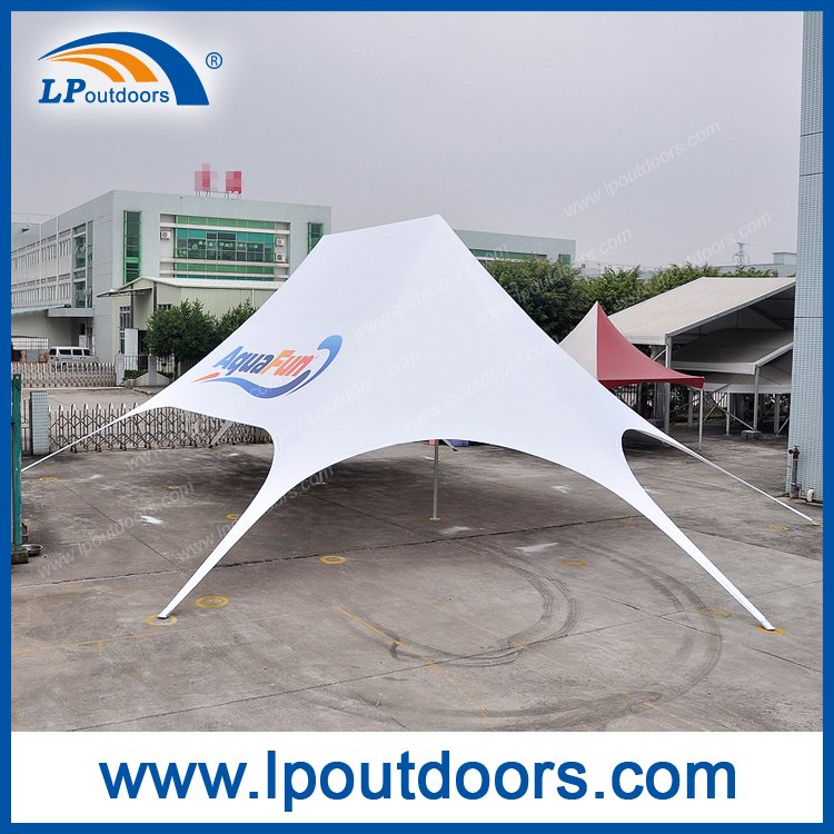 Outdoor Double Peak Logo Car Show Display Exhibition Tent From China - Car show displays for sale
