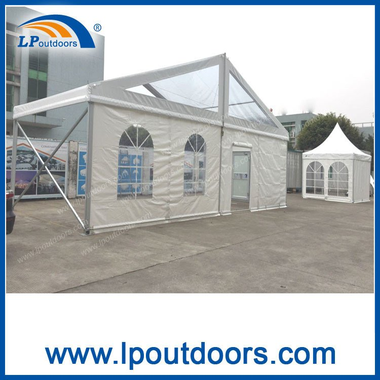 300 Seater Outdoor Luxury Clear Roof Wedding Marquee Church Tent for Event
