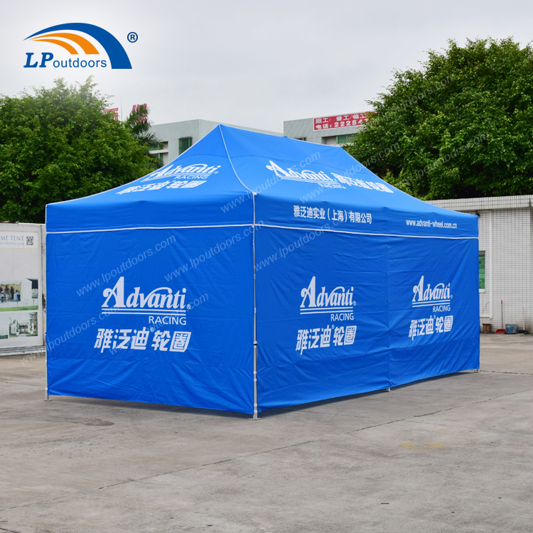 3x6m Customized Advertising Folding Canopy Tent For