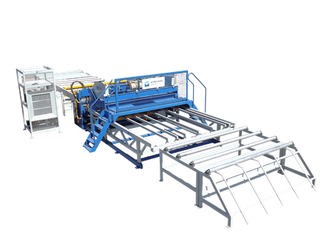 The various parts of the rebar steel wire mesh welding machine are introduced
