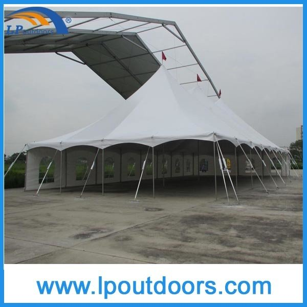 40X80′ Outdoor Cheap Steel Wedding Peak Pole Tent