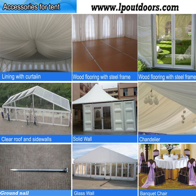 Outdoor High Quality Large Party Marquee Wedding Event Tent