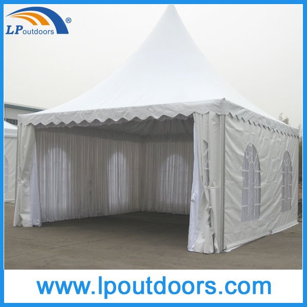 6X6m Outdoor Aluminum PVC Pagoda Tent For Horse Race