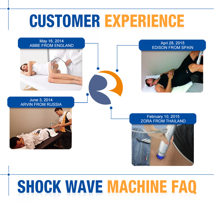 shockwave therapy device customer experience