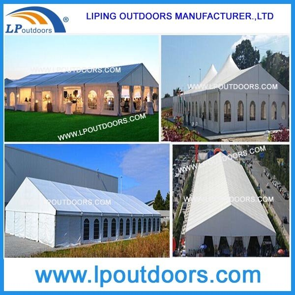 20m Outdoor Large Marquee Wedding Party Tent For Wine Festival