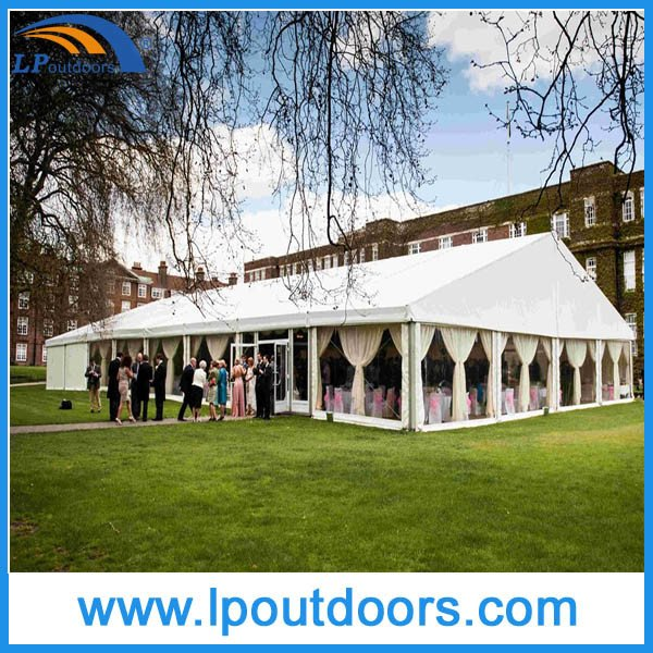Outdoor Large Aluminum White PVC Wedding Marquee Event Tent