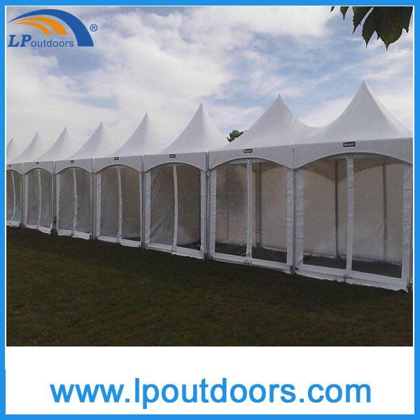 5X5m Outdoor High Peak Spring Top Tension Tent for Party