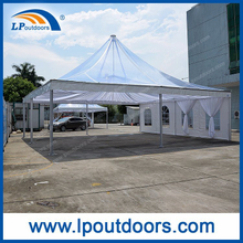 Outdoor Luxury Aluminum PVC Pagoda Tent