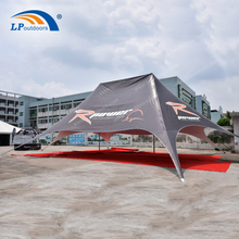 Double Top Advertising Twin Star Tent For Party Event