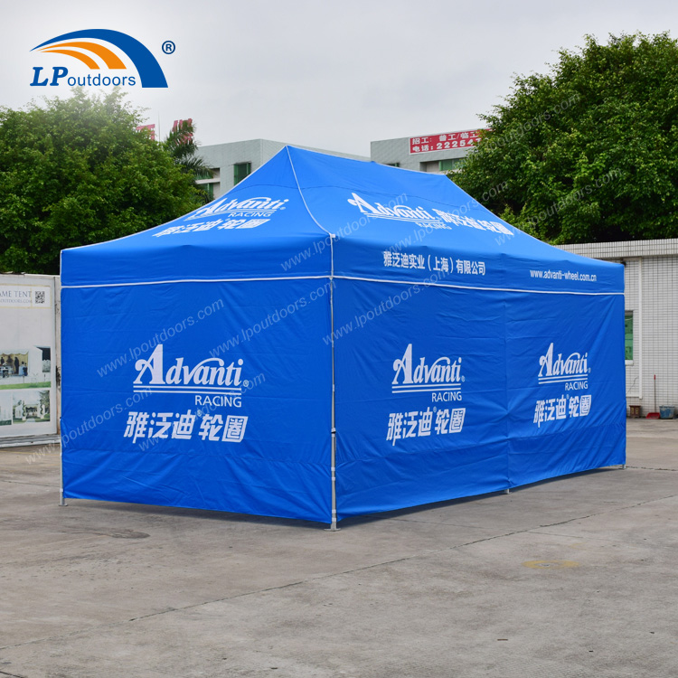 3x6m Folding Blue PVC Event Tent for Outdoor Display