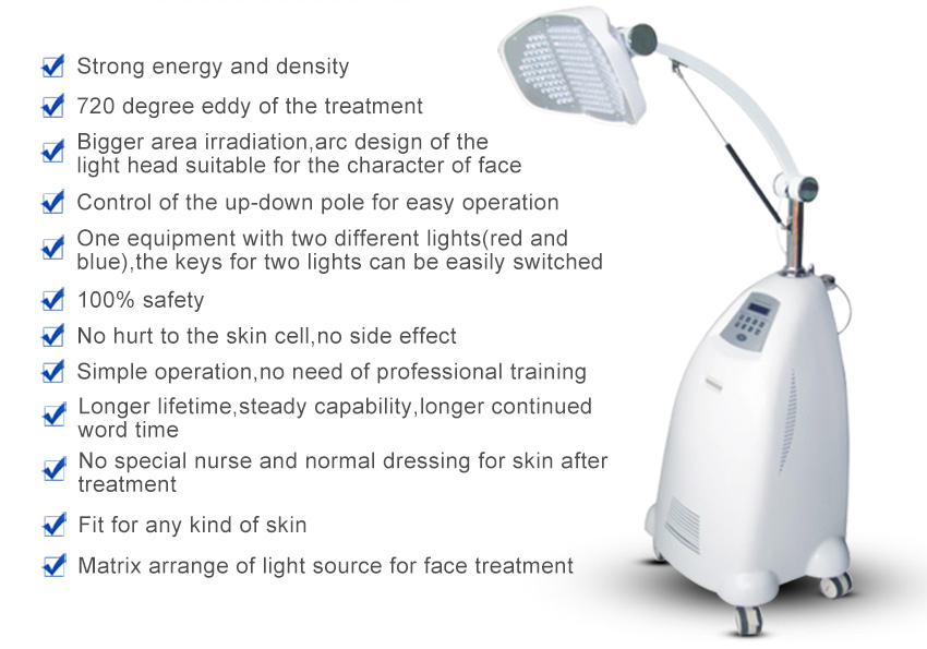 led facial machine details