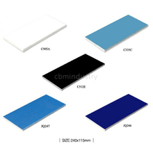 dark blue colour bathroom ceramic wall tile swimming pool tile 240*115mm