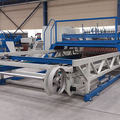 reinforcement wire mesh machine