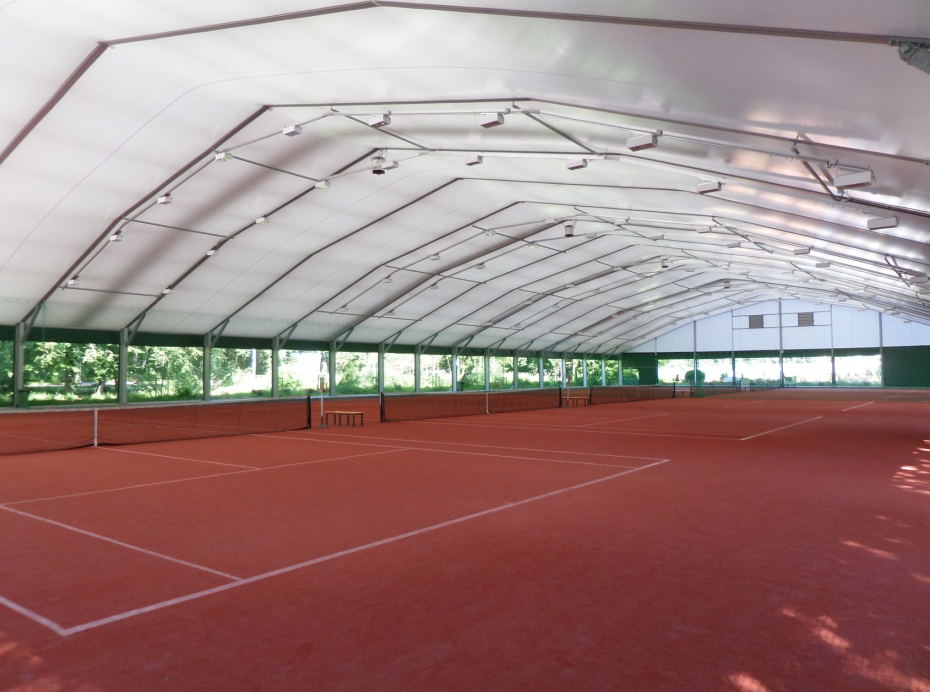Tents for tennis sports