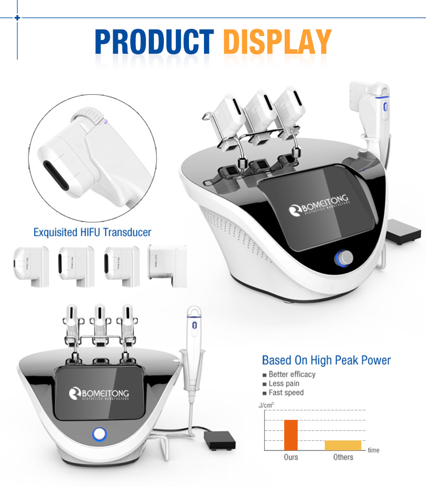 non surgical face lift machine display