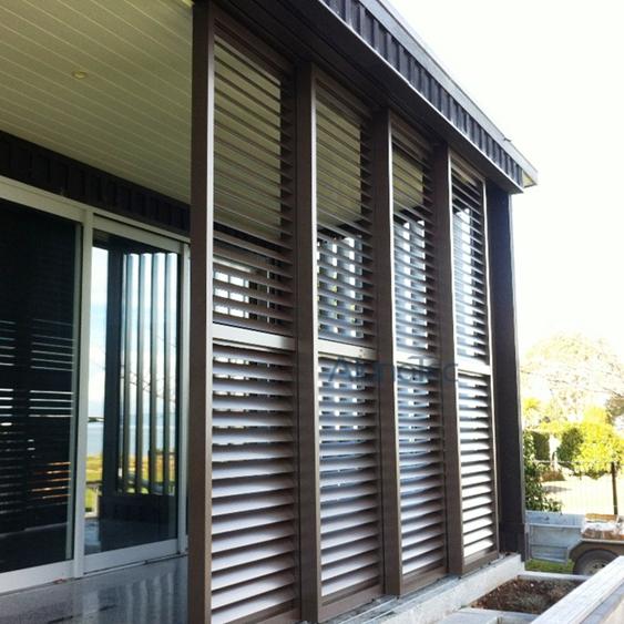 Merveilleux Aluminum Sliding Patio Shutter Door