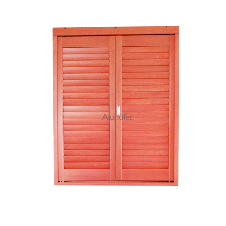 AlunoTec Basswood Adjustable Wood Ventilation Louvre Shutter Window ...