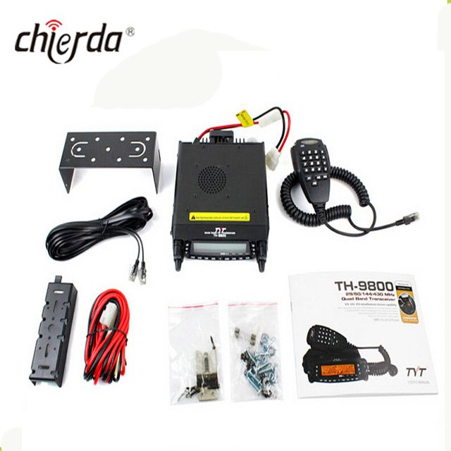 TH-9800 Hot sale 60W quad band walkie talkie mobile radio cross band repeater ham radio
