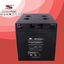 UCG series 2V 2000AH Solar GEL battery Deep cycle battery Solar Control system Battery