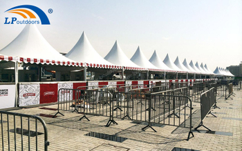 LPoutdoor Customized Pagoda Tent For SMIRNOFF VODKA WINE Event