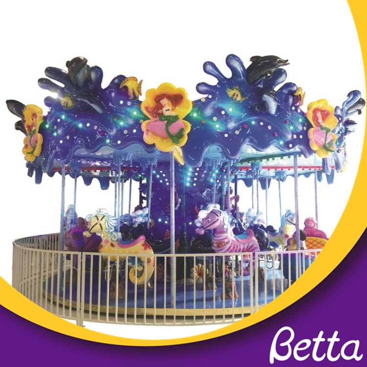 Hot Interesting Outdoor Used Merry Go Round For Kids
