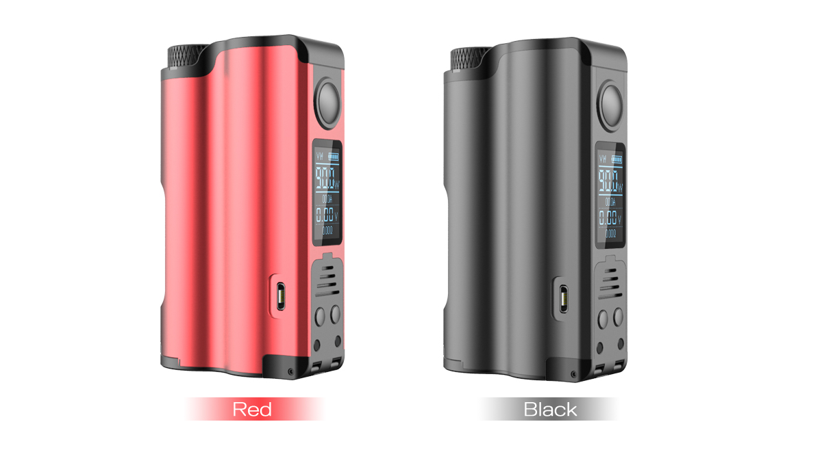 Topside Squonker, black and red