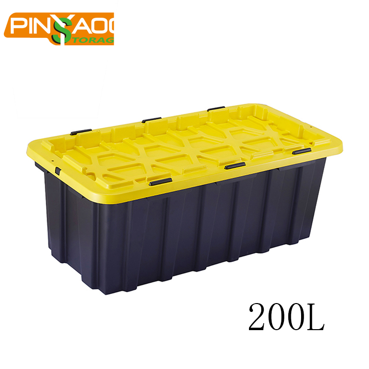 200L Pinyaoo Hot Sale Multipurpose Moving Boxes Large Tote Tool