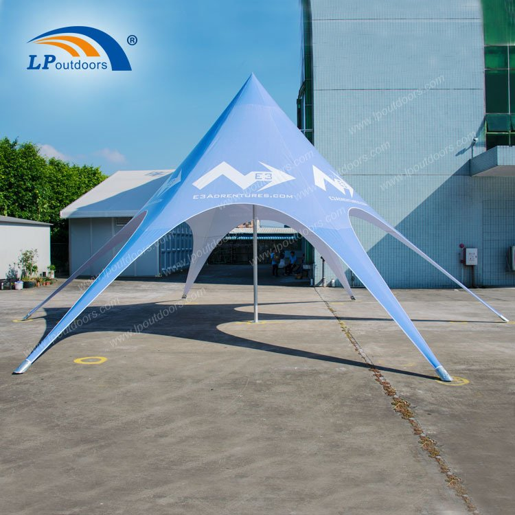 10m Hot Sale Customs Printing Star Tent for Event