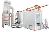 Plastic Powder Spray Booth