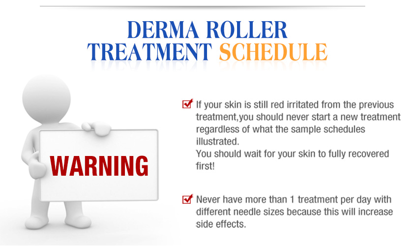 professional derma roller treatment