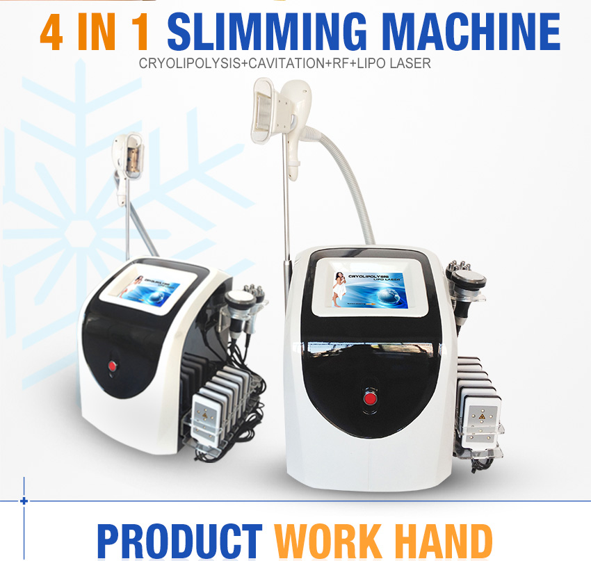 lipo freeze machine 4 in 1
