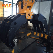 High Efficiency Hydraulic Grapple for Excavator