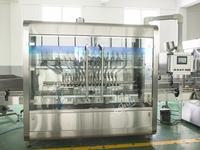 Automatic Rotor Pump Filling Sealing Machine For Tomato Paste, Chili Sauce