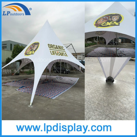 16m Single Peak Promotion Garden Beach Star Tent
