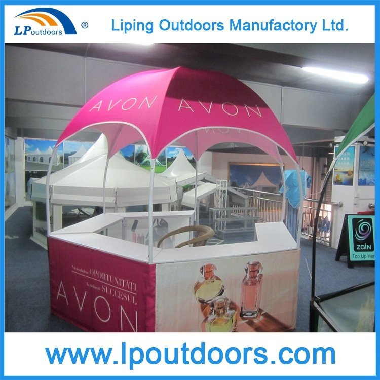 Dia 3m Hexagonal Pavilion Tent for Food and Beverage Promotion