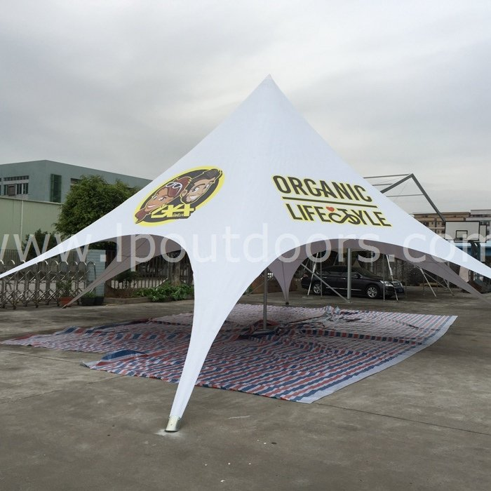 Display Outdoor Star Shade Canopy Spider Star Tent for Outdoor Promotions