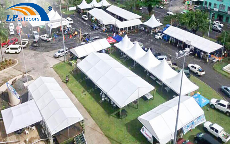 LIPING Marquee tent for prestigious corporate events