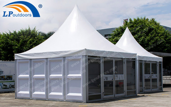 Customized Easy Installation & Dis-assembly Pagoda Tent Give You More Options