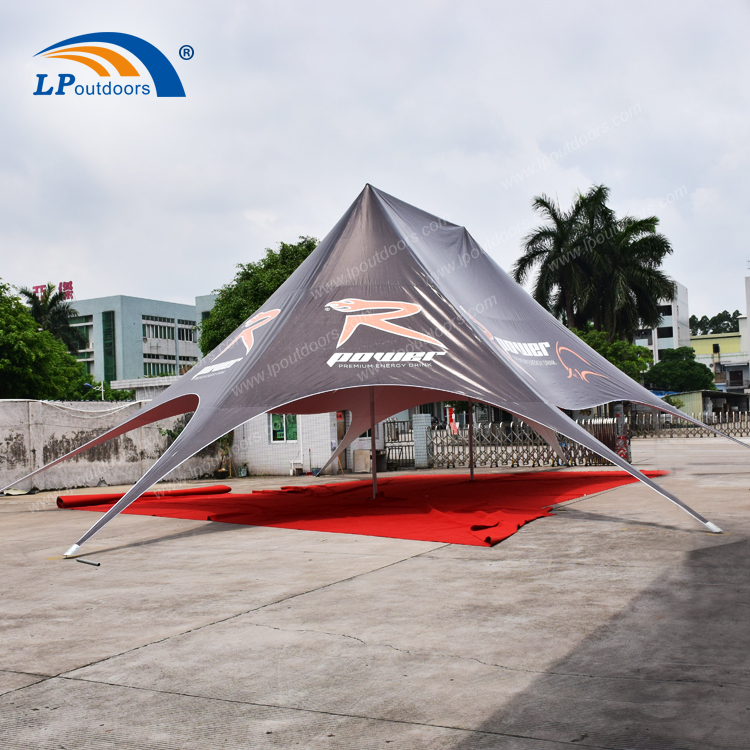 Customized Advertising 16x21m Double Top Star Shade Tent For Event