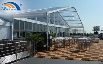 How Can We Make Transparent Arcum Tent Become A Outdoor Restaurant