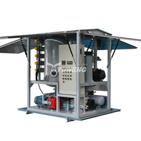 4000L/H Vacuum Transformer Oil Purification Machine