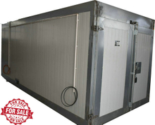 Gas powered curing oven colo-5219