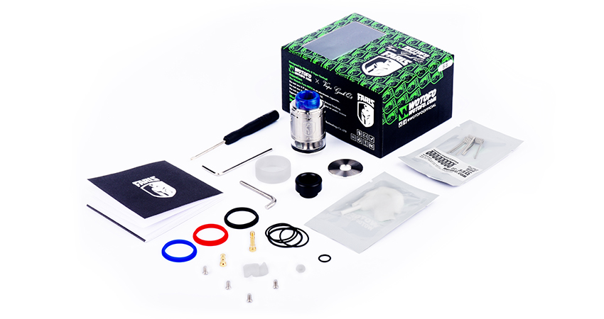 Faris RDTA Package Contents
