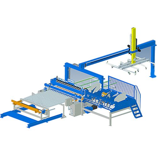 Double Wire Fence Machine