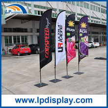 Customized Small Beach Flag Advertising Oudoor Banners and Flags